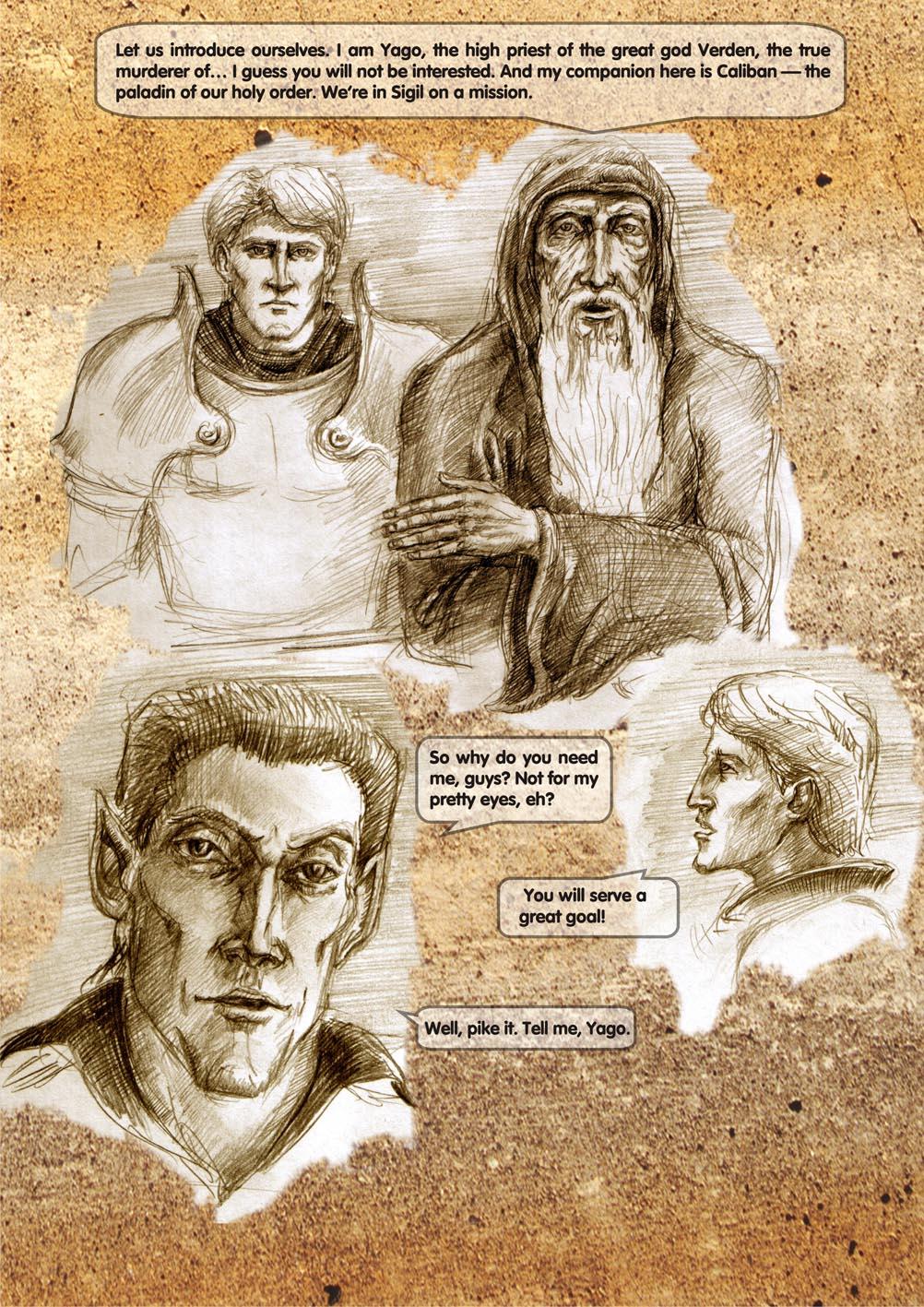 Planescape comic - strip 10
