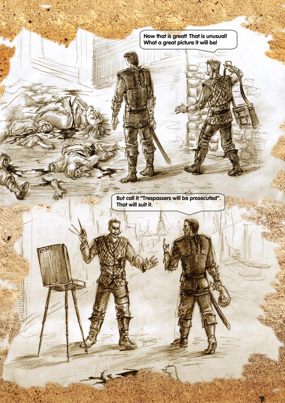 Planescape comic - strip 28