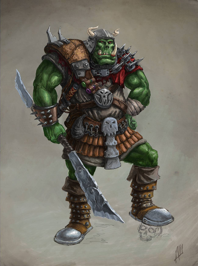 Da Ork by Deusuum