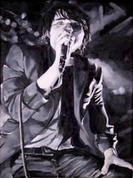 Gerard Way singing by GataSilenciosa