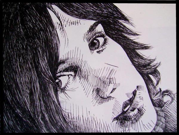 Me - portrait by GataSilenciosa