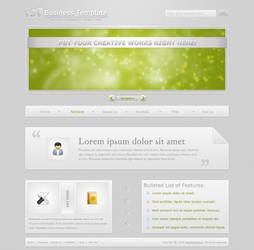1st Business Template by dainix