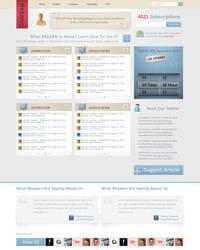Dezano Site Design v1 by dainix