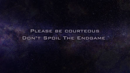 Spoil The Endgame by 1beastfrommiddleeast