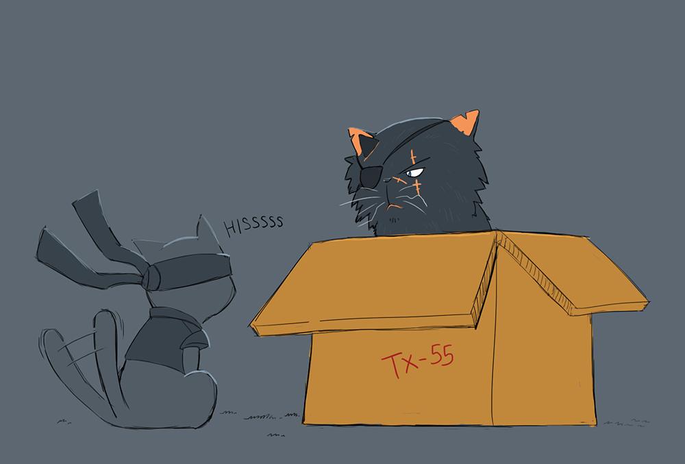 It's a joke about boxes... by juzztice