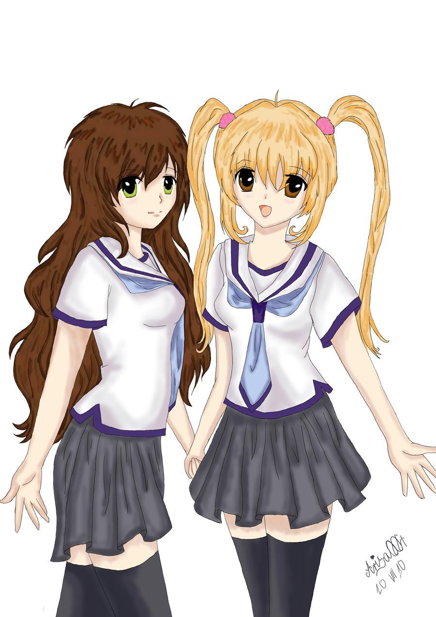 best friends forever boy and girl anime wwwimgkidcom