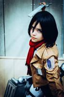 Mikasa Ackerman - SANA 14 (8) by thais-cos