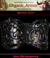 OA - Bronze Cuffs by Muttstock