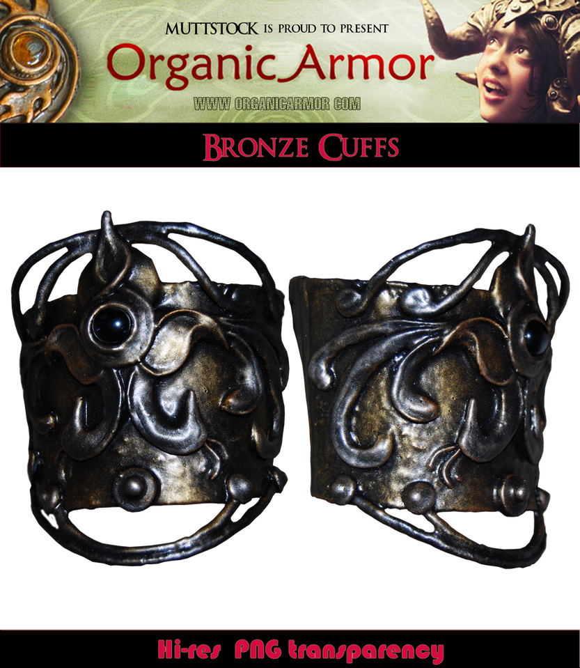 OA - Bronze Cuffs by Muttstock