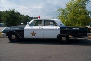 Old Cop Car 01