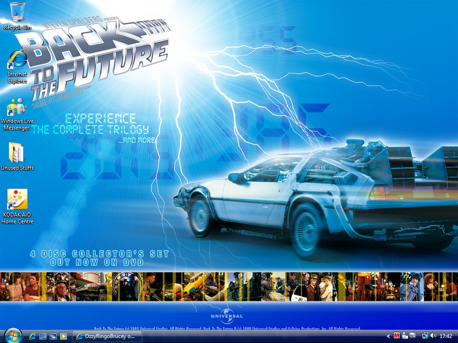 Back to the future wallpaper by ozzyringobrucey on deviantart