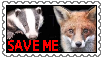 Save Me Trust Stamp by OzzyRingoBrucey