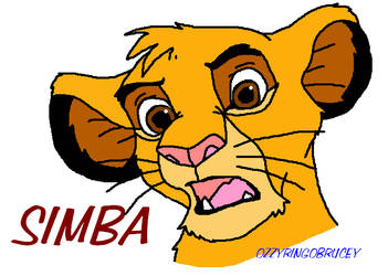Simba TLK by OzzyRingoBrucey