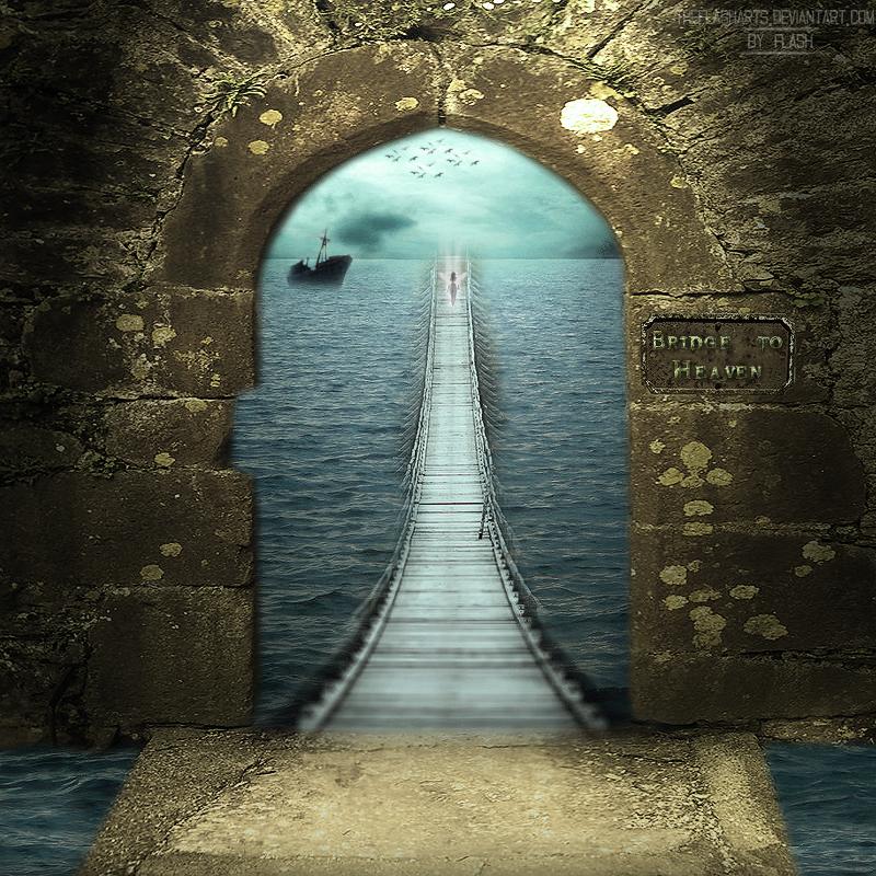Bridge to heaven by theflasharts on deviantart
