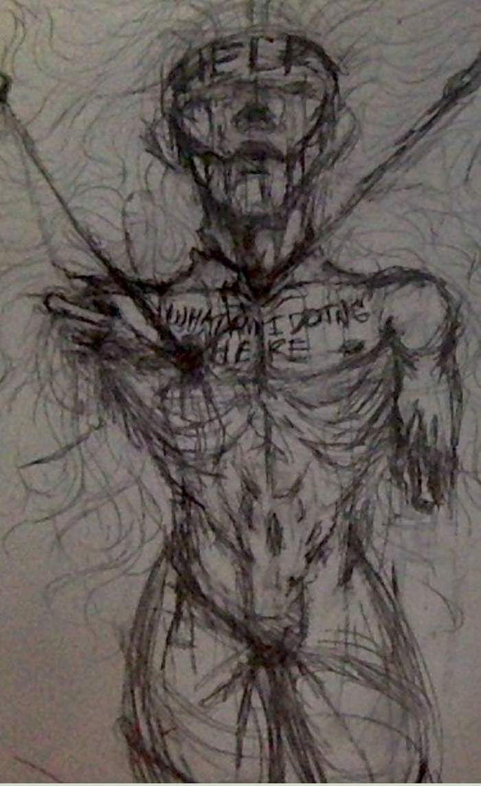 Vent Doodle: Personification of Depression by ...