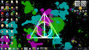 deathly hallows wallpaper *1366 x 768* IN USE DEMO