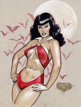 Vampirella (Bettie Page)