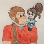 Ralph and Vanellope ~ Best Friends
