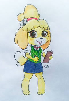 Isabelle ~ Animal Crossing