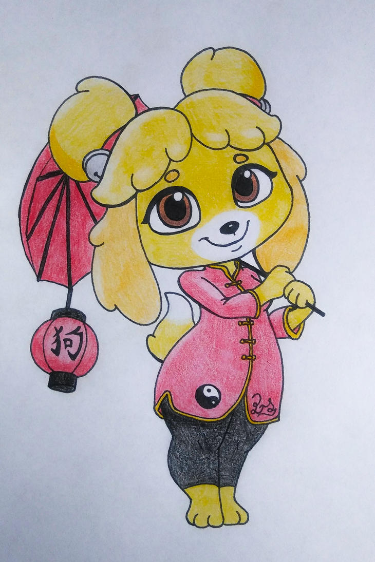 Chinese New Year Isabelle by PilloTheStar
