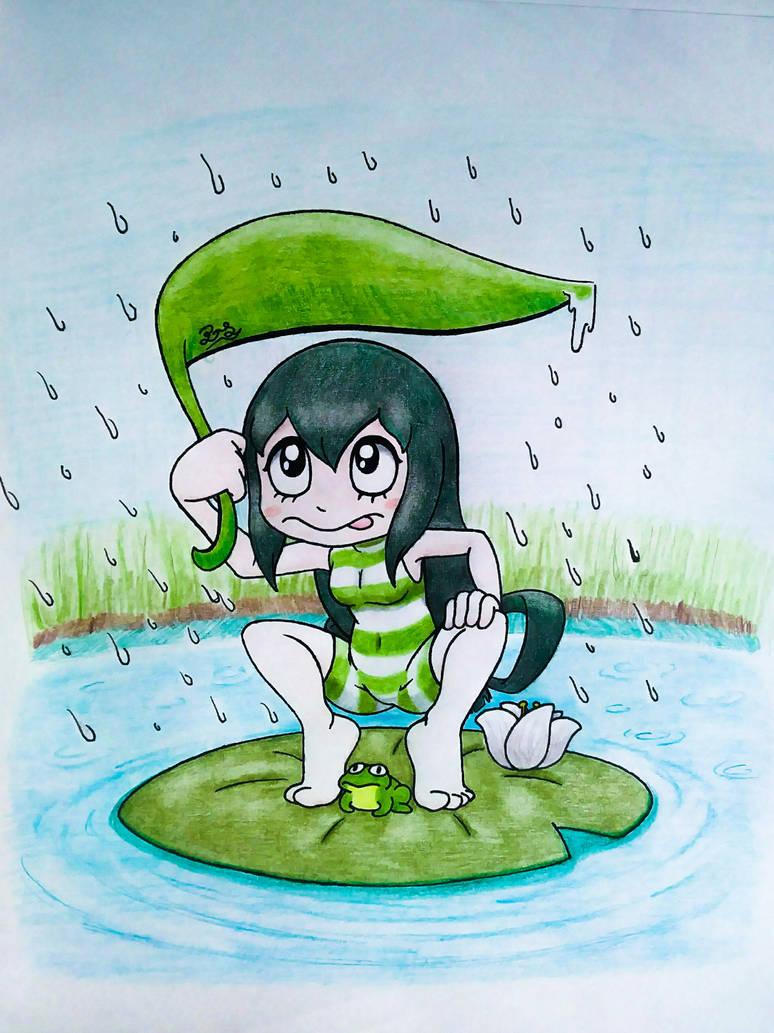 Rainy Season Tsuyu By Pillothestar On Deviantart