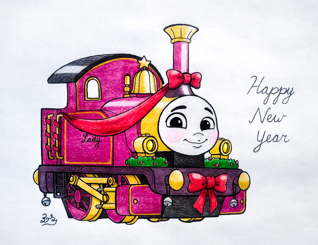 Lady the Magical Engine - Happy New Year! by PilloTheStar ...