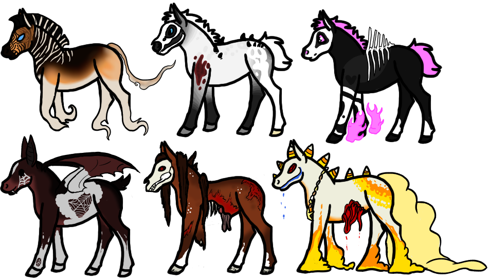 Free Hallowen Breeders Part 1 Closed by AmeEgaree
