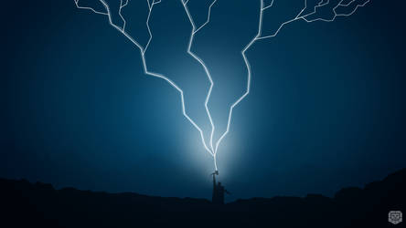 Thor Conjuring Lightning