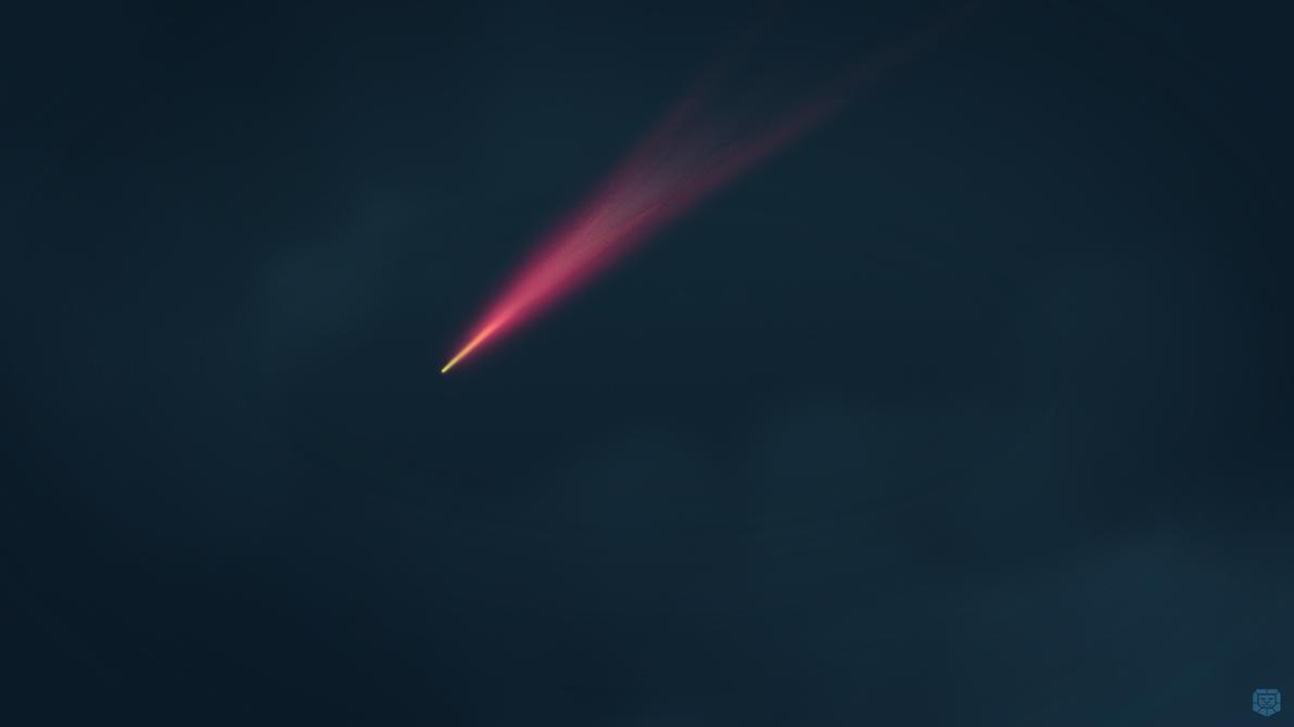 Red comet by sreekuttan09