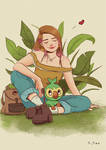 Ari and Grookey by Acisey