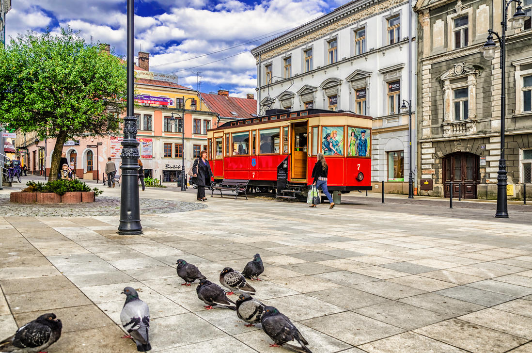 Stationary Tramcar by marrciano