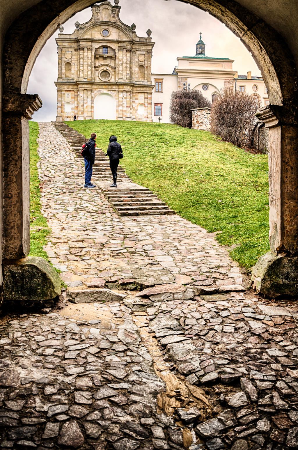 Paintings Of Cobblestone Paths : Stone path by marrciano on deviantart