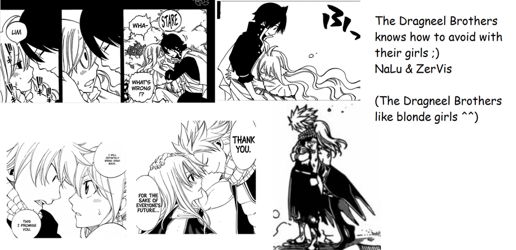 NaLu and ZerVis Moment by Limpetleaf on DeviantArt