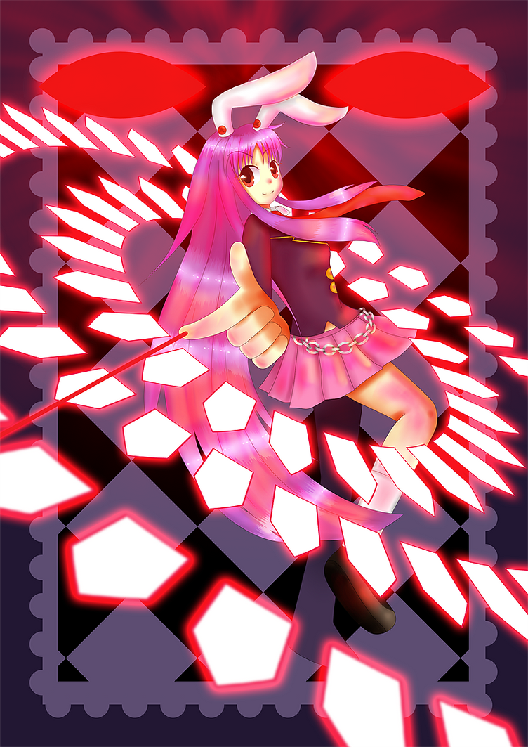 Reisen Udongein Inaba Touhou Project wallpaper anime Wallpaper