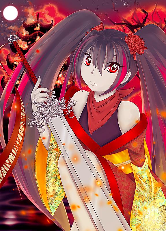 Fire Warrior by kaminene