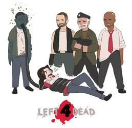 Left 4 Dead by blackbookalpha
