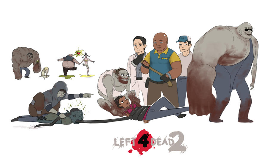 Left 4 Dead 2 Hunter And Witch