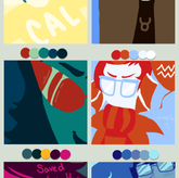 Color Scheme Challenge: Homestuck by Sir-Dance-A-Lot