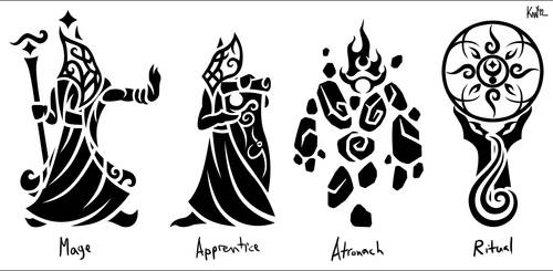Birthsigns - Mage Set