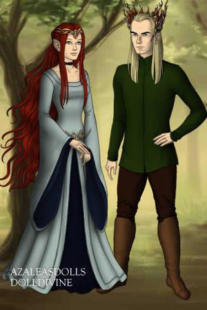 King Thranduil x Reader: Forest dance by Moonlight-prisoner on