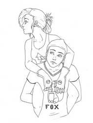 Nic and Rena - Distraction