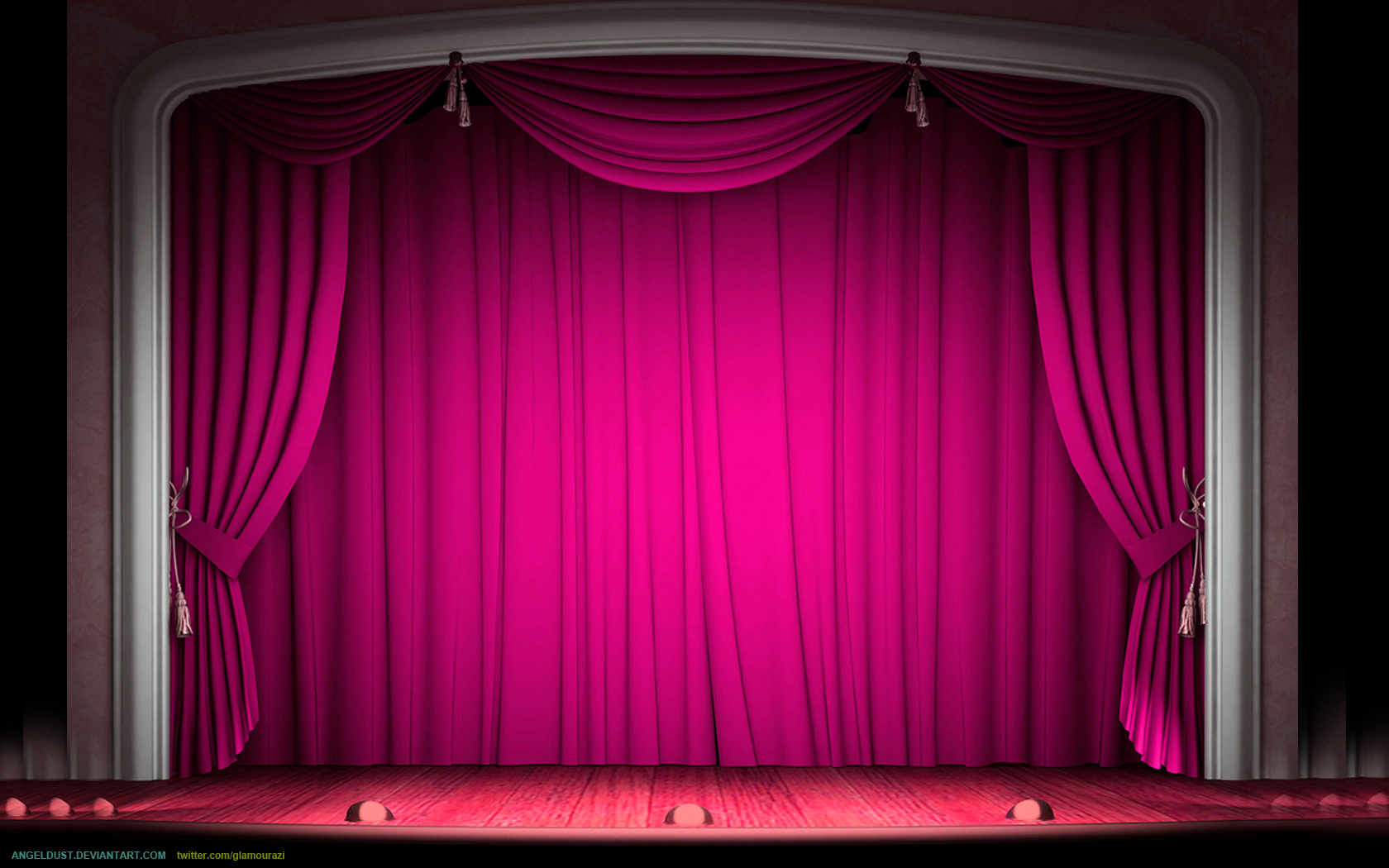 Vintage Old Hollywood Stage by angeldust