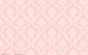 Peach Damask Flock Wallpaper by angeldust