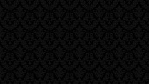 Classic Black Damask Wallpaper by angeldust