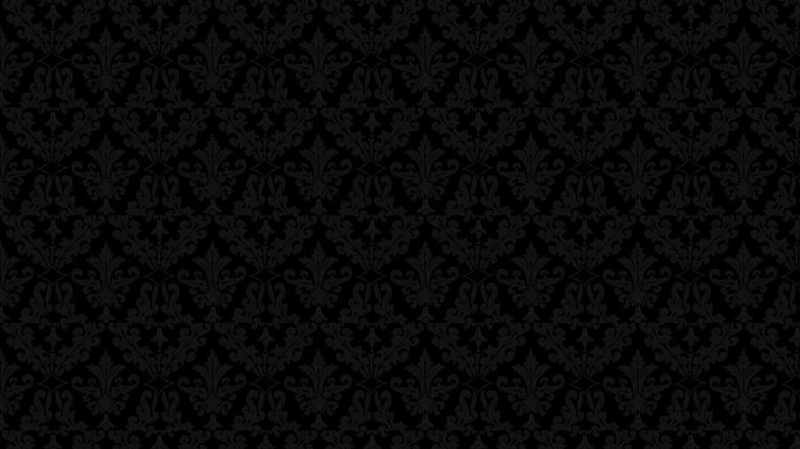 Classic Black Damask Wallpaper By Angeldust