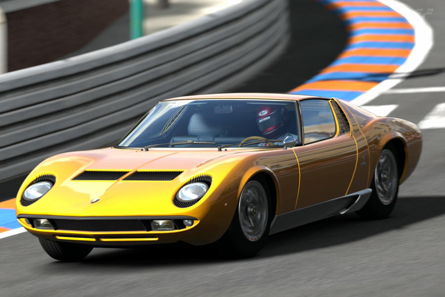 Old School Lambo By Nuttbag93 On Deviantart