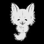 P2U Chibi Wolf Line Art {30 points} by SisAphe