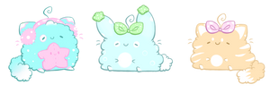 Kawaii Cats and Bunny AUCTION #34 CLOSED by SisAphe