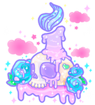 Melty Candle Sparkle