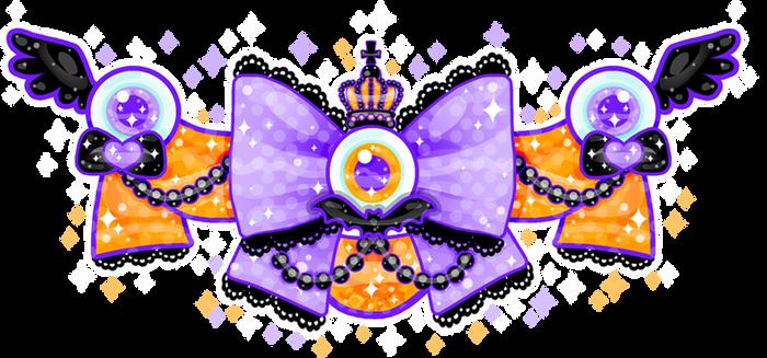 Strange Lolita Halloween Bow